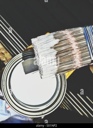 Paint. - Stock Image