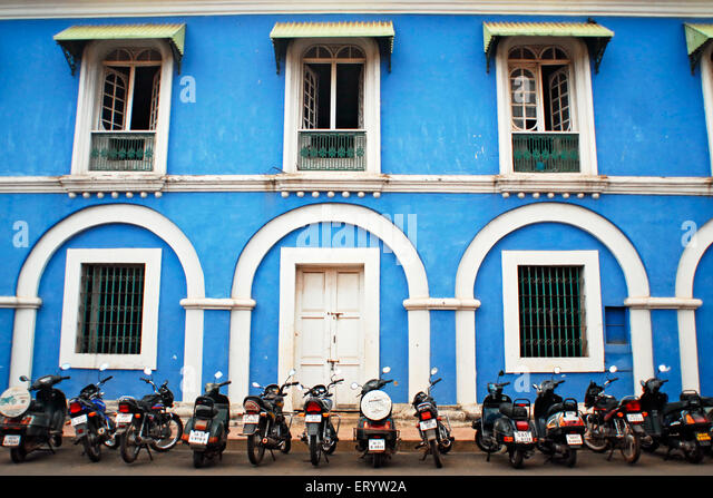 Goan architecture stock photos goan architecture stock for Architecture design for home in goa