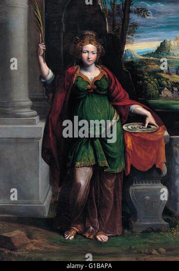 Garofalo - Saint Lucy - Musei Capitolini Roma - Stock Image