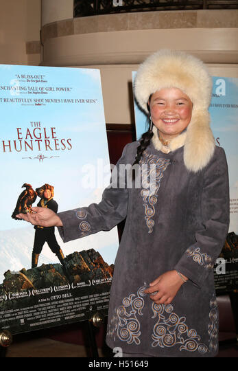 Los Angeles, Ca, USA. 18th Oct, 2016. 'The Eagle Huntress' Premiere at the 'The Eagle Huntress' - Stock Image