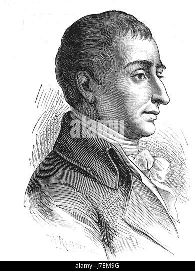 JOSEPH-LOUIS LAGRANGE (1736-1813) Italian mathematician and astronomer - Stock-Bilder