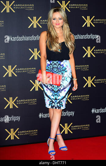 London UK 14th Nov 2013 : Emily Atack attends the launch party for the Kardashian Kollection for Lipsy at Natural - Stock Image