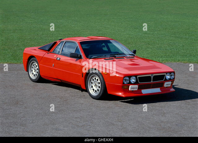 1983 Lancia Abarth Rally 2.0 litre coupe - Stock Image
