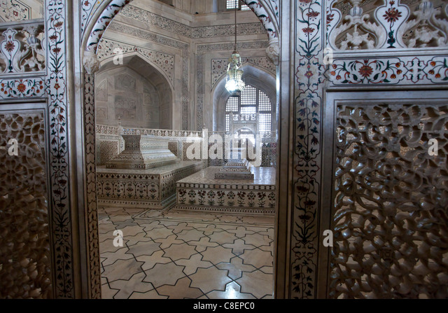 Inside Interior Taj Mahal Stock Photos & Inside Interior ...