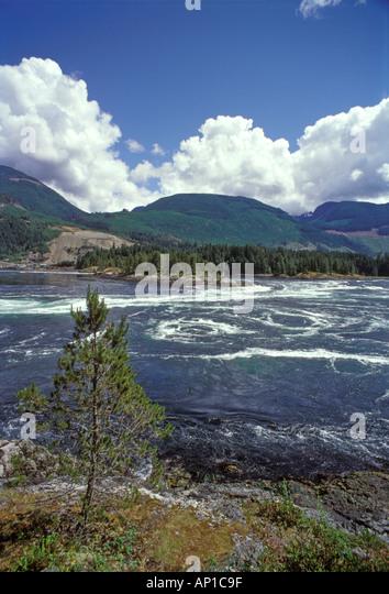 Salt Water Rapids Vancouver Island