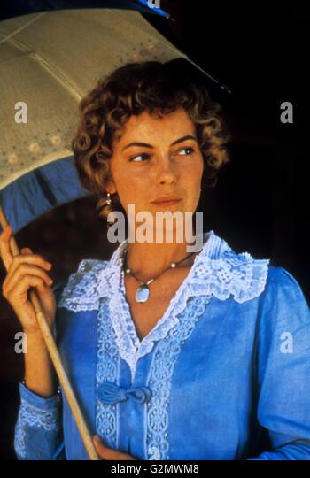 greta scacchi,country life - Stock Image