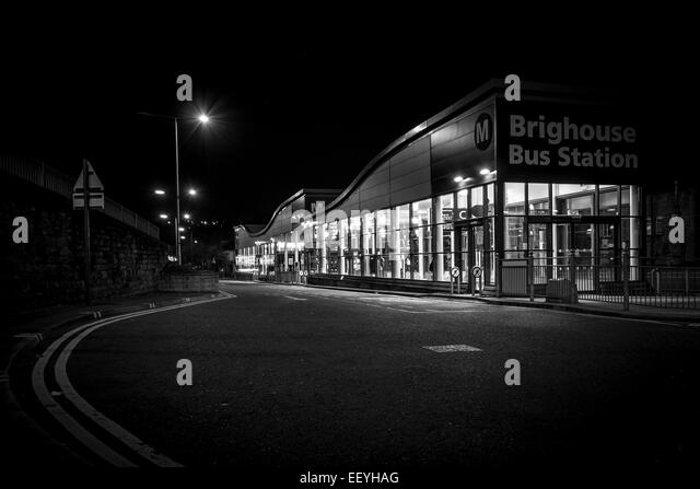The crowds of eager travellers gone, silence descends on the normally busy station. - Stock-Bilder