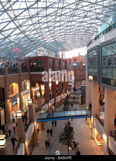 A modern European city