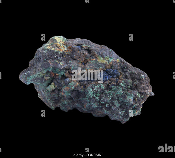 Copper Ore Malachite Stock Photos & Copper Ore Malachite ...