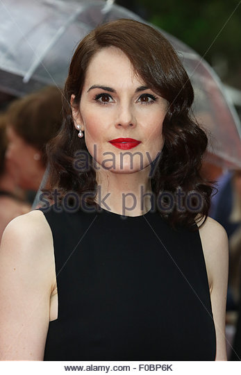 London, Great Britain. August 11st, 2015. UNITED KINGDOM, London: Michelle Dockery attends a special BAFTA ceremony - Stock Image