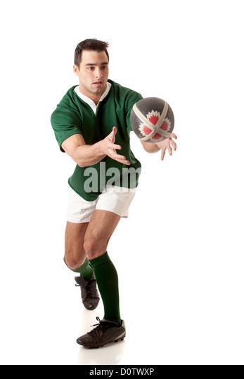 Rugby Player - Stock Image