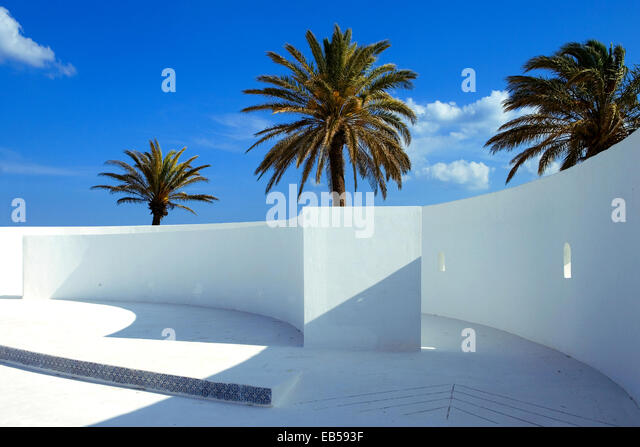 Tunisia, Hammamet, the new Medina's anphitheatre - Stock Image