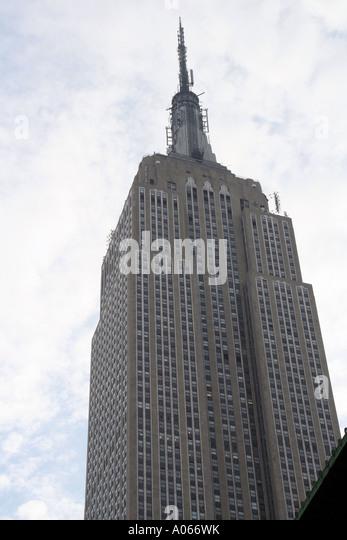 Empire State Building, Manhattan, New York - Stock Image