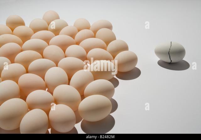 Cracked Egg Stock Photos & Cracked Egg Stock Images - Alamy