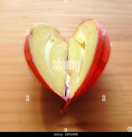 Spain, Love Garlic - Stock-Bilder