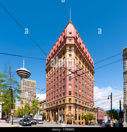 Dominion Building, Vancouver - Stock Image