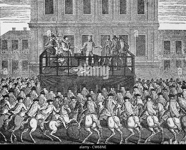 execution of king charles i essay