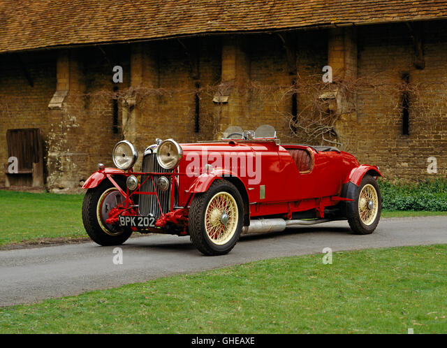 1934 Lagonda M45R 4 5 litre competition 4 seater won Le Mans in 1935 Country of origin United Kingdom - Stock Image