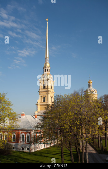The Fortress of St. Peter and Pavel. St.Petersburg. Russia. - Stock Image