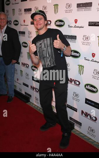 Las Vegas, NV, USA. 14th Oct, 2016. Bilko at arrivals for Premiere of 'Unchained: The Untold Story of Freestyle - Stock Image
