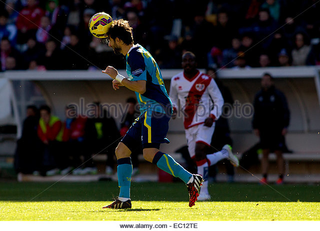 SPAIN, Madrid: Sevilla FC´s Argentinean Defender player Nicolas Pareja during the Spanish League 2014/15 match - Stock Image
