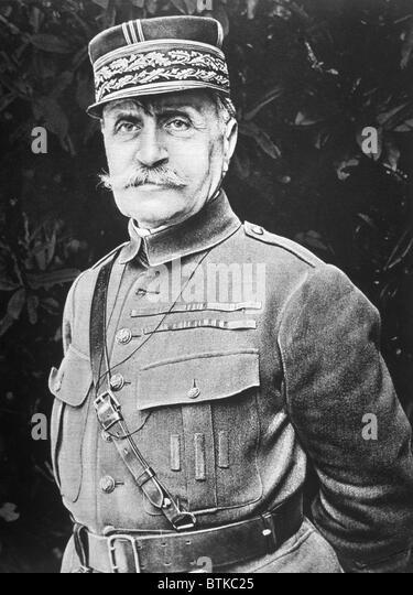 Marshal Ferdinand Foch (1851-1929) - Stock Image