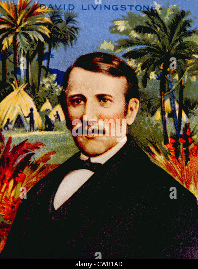 David Livingstone (1813-1873) - Stock Image