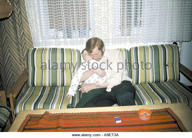 My Father and Me - Stock Image