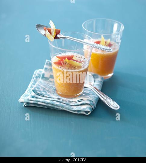 Melon Gazpacho - Stock Image