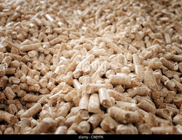 Wood pellets stock photos images alamy