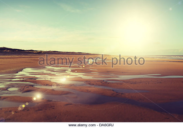 english beach - Stock Image