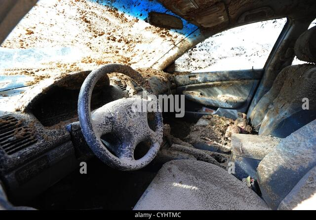 car covered in mud stock photos car covered in mud stock images alamy. Black Bedroom Furniture Sets. Home Design Ideas