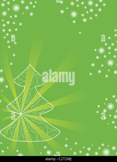 abstract christmas holiday backgrounds - Stock Image