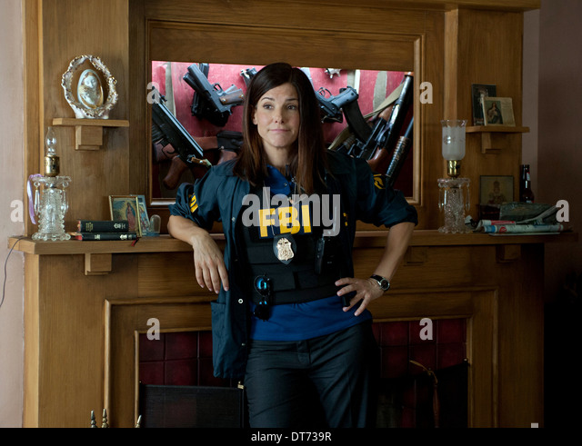 SANDRA BULLOCK THE HEAT (2013) - Stock Image
