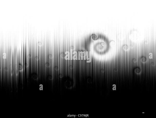 Abstract black and white futuristic hi-tech techno background - Stock Image