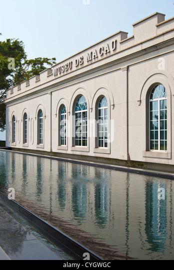 Museum of Macau, Monte Fort, Macau - Stock Image