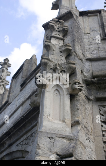 Carved stone cross stock photos