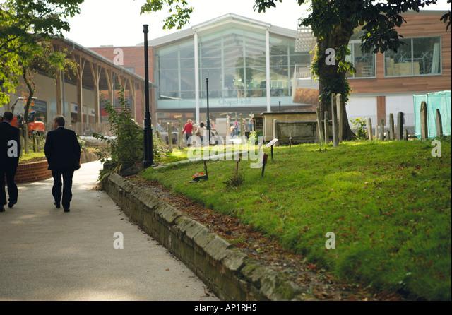 Chapelfield Shopping Centre Norwich Stock Photos