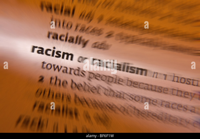 Concept - Racism - Stock Image