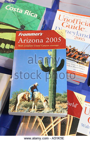 Florida Coconut Grove Convention Center Miami Herald Travel Expo Frommer's Arizona annual travel guide books - Stock Image