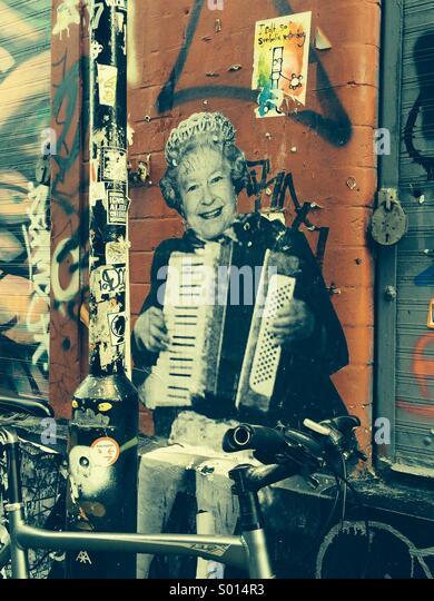 Majestic Street Art - Stock-Bilder