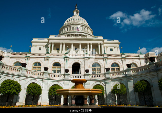 United States Capitol building in Washington, D.C. - Stock Image