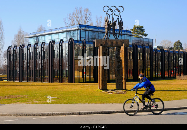 International Olympic Committee, IOC headquarters, Lausanne, Switzerland, Europe - Stock Image