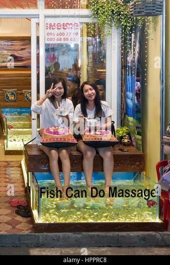 Fish foot massage stock photos fish foot massage stock for Fish spa near me
