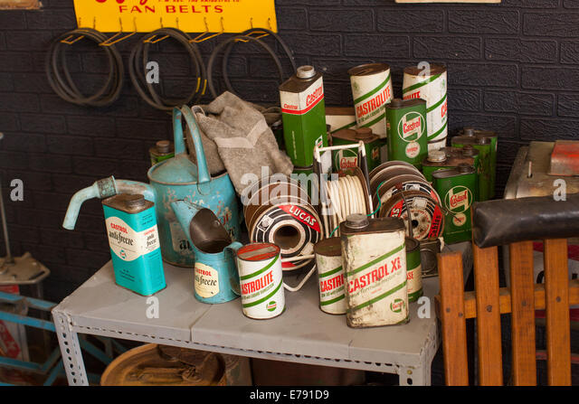 Vintage oil cans stock photos vintage oil cans stock Motor oil shelf life