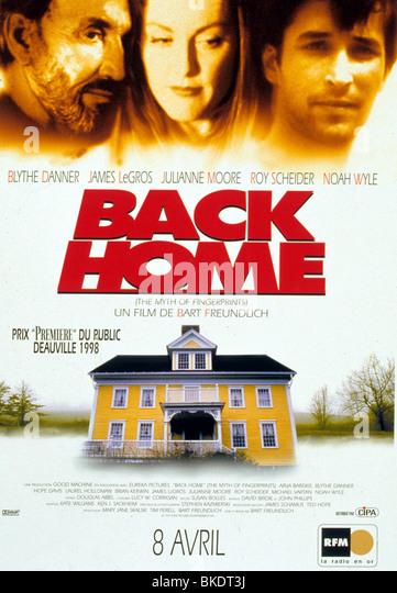MYTH OF FINGERPRINTS (1997) BACK HOME (ALT) POSTER MYFN 021 - Stock Image