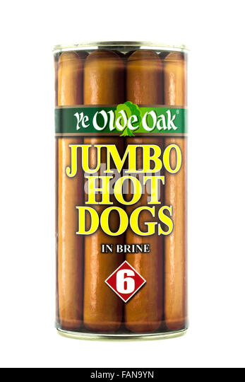 Old Oak Hot Dogs In A Can