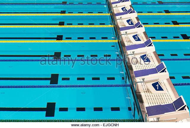 Swimming Pool Lanes Stock Photos Swimming Pool Lanes