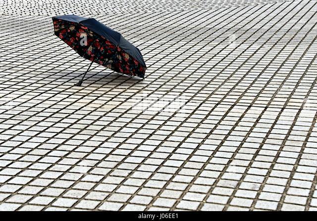 Umbrella in Taipei - Stock Image
