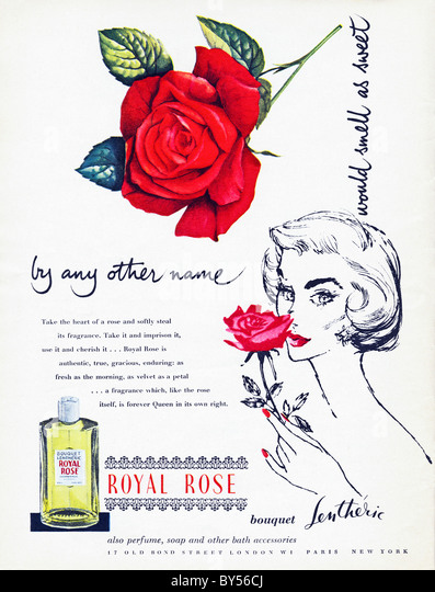 1950s full page colour advertisement in women s fashion magazine for